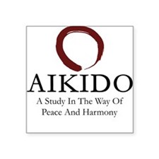 Aikido Square Sticker