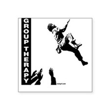 Group Therapy v2 Square Sticker
