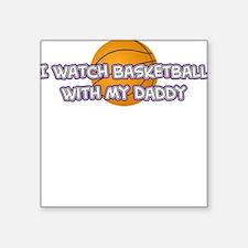 Sacramento Basketball Daddy Square Sticker