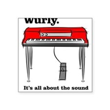 WurlyWear Square Sticker