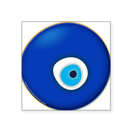 Evil Eye Square Sticker