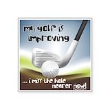 Golf funny Square