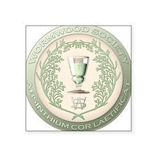 WS Seal Square Sticker