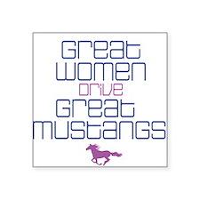 Great Women II Square Sticker