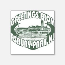 Asbury Park Green Square Sticker