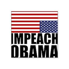 Impeach Obama Square Sticker