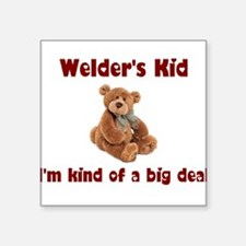 Welder's Kids Square Sticker