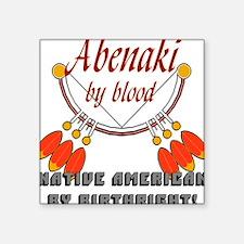 """Abenaki"" Square Sticker"