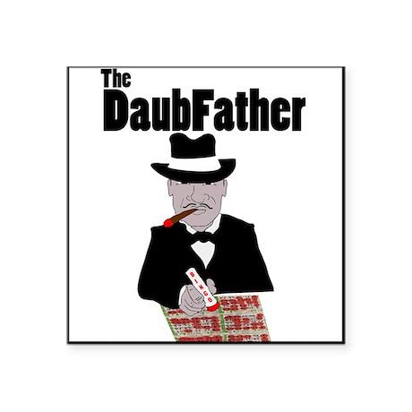 The DaubFather Square Sticker