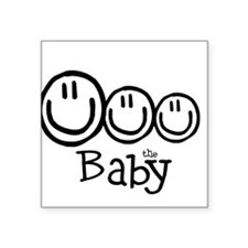 The Baby (3) Square Sticker