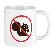 No Squirrels Mug