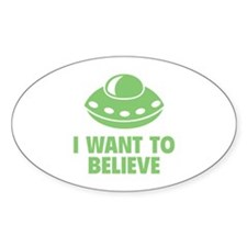 I Want To Believe Decal