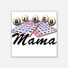 Bingo Mama Square Sticker