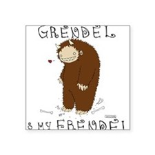 Grendel Square Sticker
