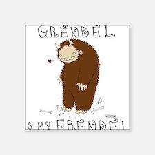 Grendel Square Sticker