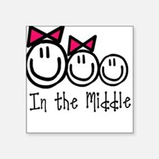 The Middle (GGB) Square Sticker