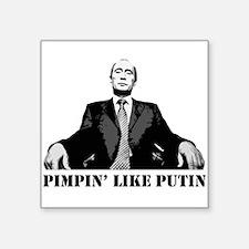 Putin Square Sticker
