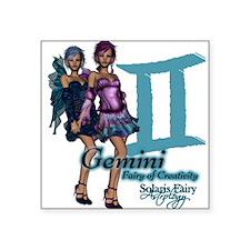Gemini Square Sticker