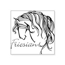 Friesian Square Sticker