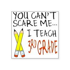3rd Grade Teacher Square Sticker