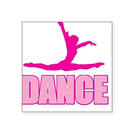 DANCE Square Sticker