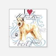Wheaten Terrier Square Sticker