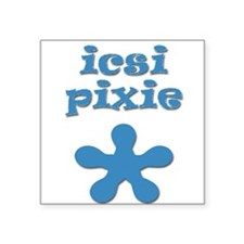 Icsi Pixie Baby Creeper Square Sticker