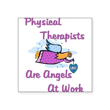 PT Angels Square Sticker