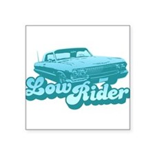 Low Rider Creeper Square Sticker