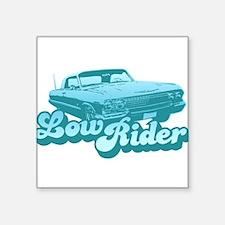 Low Rider Creeper Square Sticker