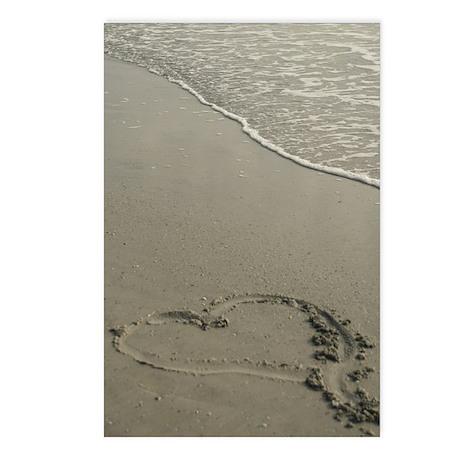 Love on the Beach Postcards (Pkg of 8)