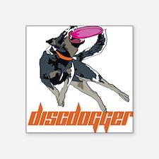 Discdogger.com wazee Square Sticker