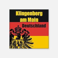 Klingenberg am Main Deutschla Square Sticker