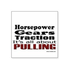 Traction Puller Square Sticker
