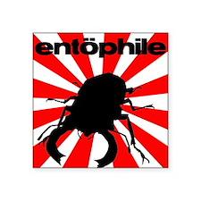 Entophile Rising Sun Square Sticker