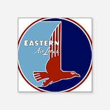 Vintage Eastern Air Lines Square Stickeree