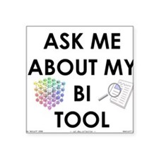 bi tool Square Sticker
