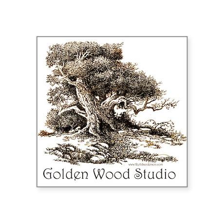 Studio Logo Square Sticker