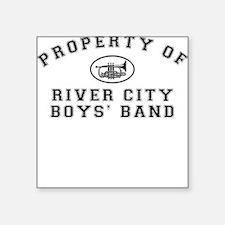 River City Boys' Band Square Sticker