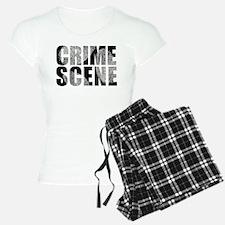 Crime Scene Finger Prints Pajamas