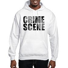 Crime Scene Finger Prints Hoodie