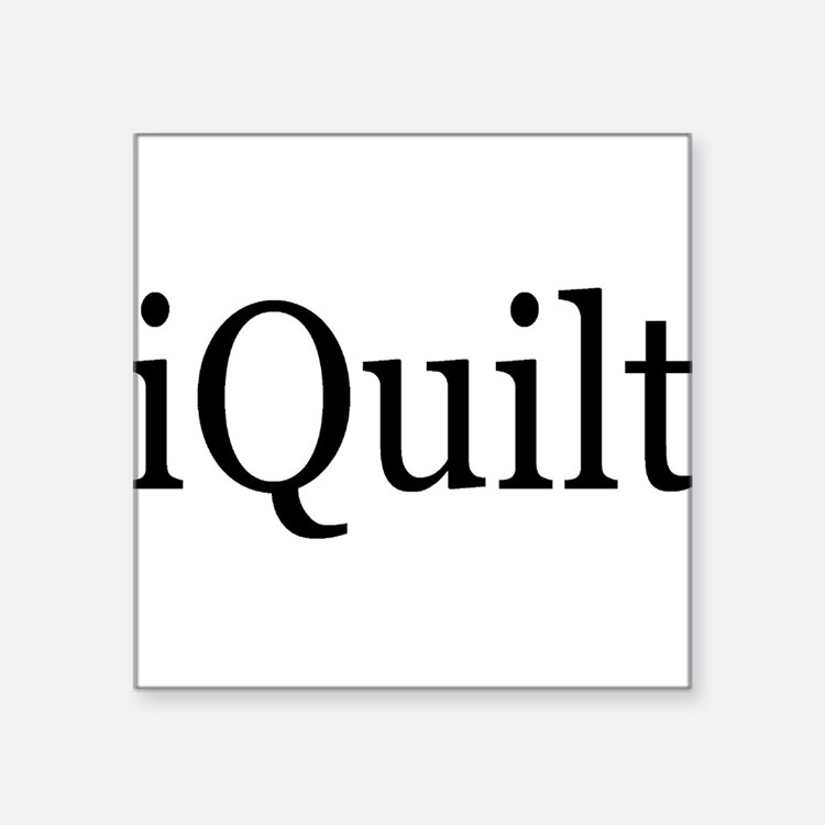 iQuilt Square Sticker