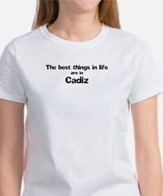 Cadiz: Best Things Tee