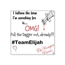 OMG Team Elijah Square Sticker