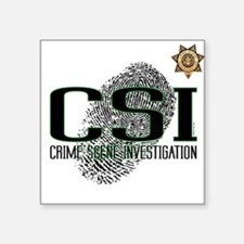 CSI Square Sticker