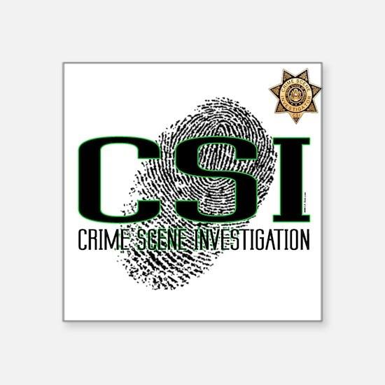 CSI Square Sticker