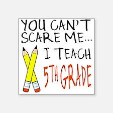 5th Grade Teacher Square Sticker