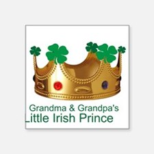Irish Prince/Grandma/Grandpa Square Sticker