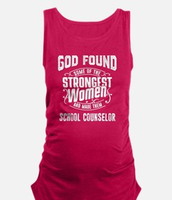 School counselor Maternity Tank Top