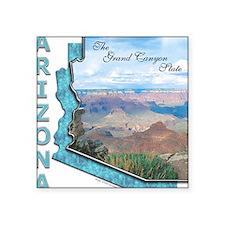 Arizona - Grand Canyon State Square Sticker